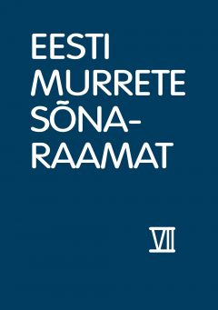eesti murrete sonaraamat VII 31_kaas.indd